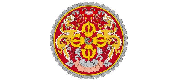 Bhutan National Emblem