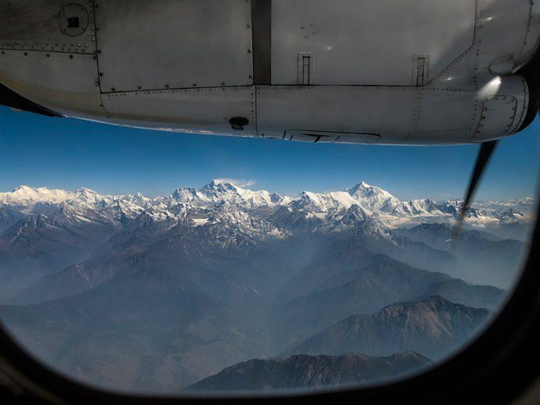 Flight To Bhutan